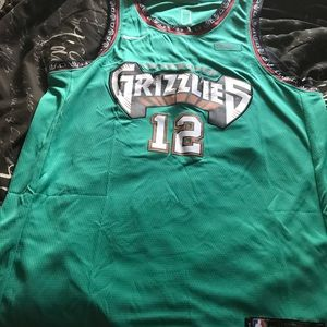 Vancouver Grizzlies Morant rookie jersey